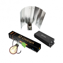OMEGA DIGI-PRO 600w DIGITAL BALLAST, REFLECTOR and D/S LAMP BULB KIT